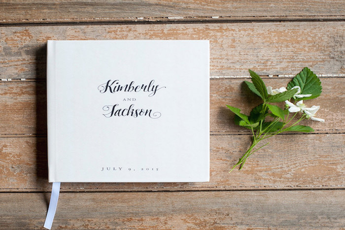 white-guestbook