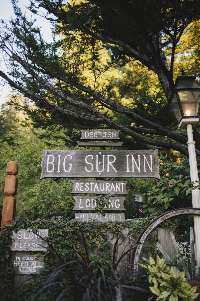 Big Sur Inn sign