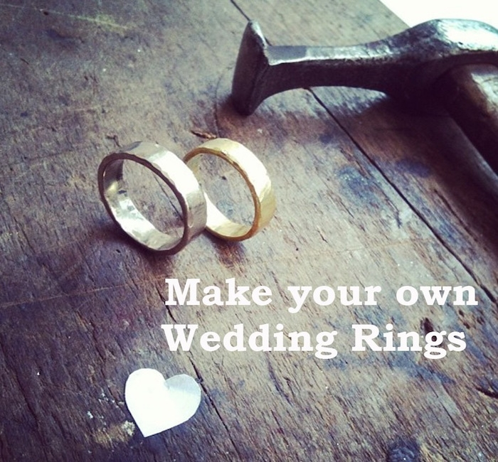 how to create your own wedding bands posted on december 23 2015 by laura downs made_your_own_wedding_rings - Create Your Own Wedding Ring