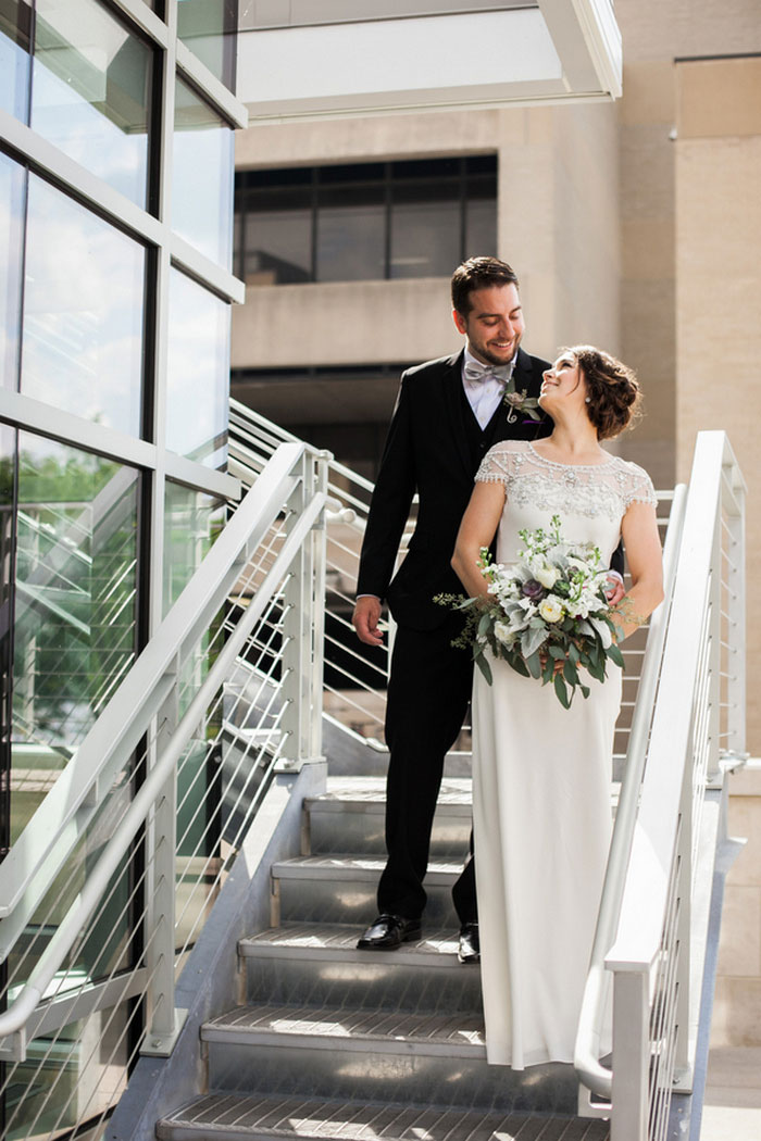 intimate museum wedding
