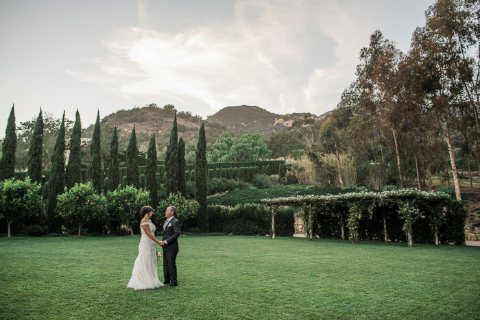 Intimate California ranch wedding