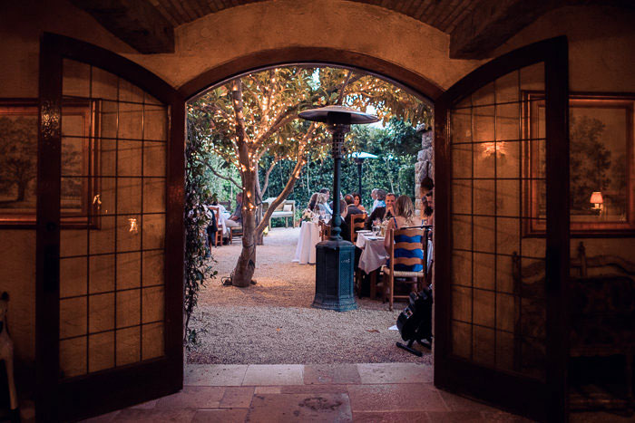 San Ysidro Ranch wedding reception