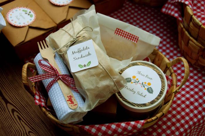 picnic buffet