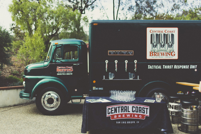 wedding beer truck