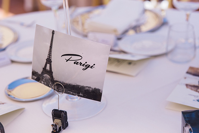 Paris table number