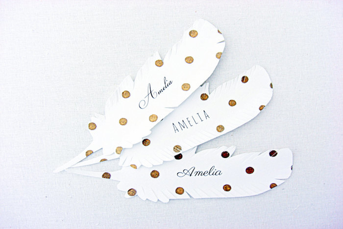 feather-placecards