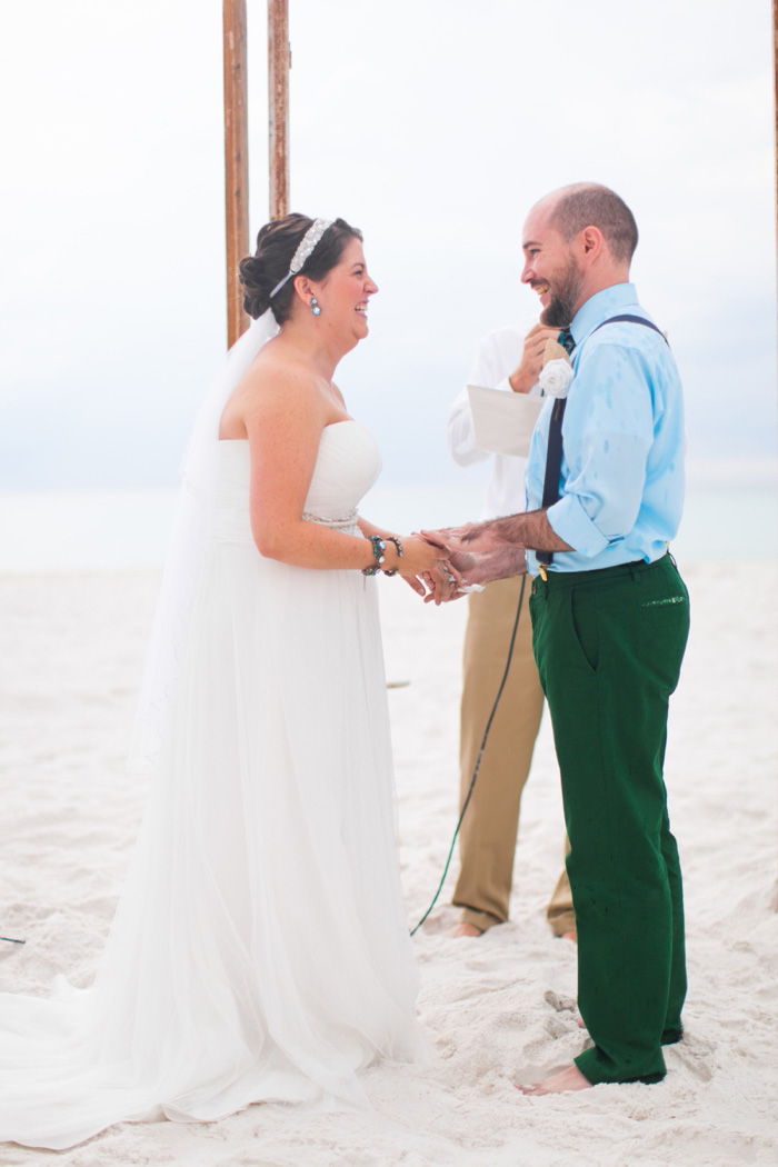 beach wedding ceremony