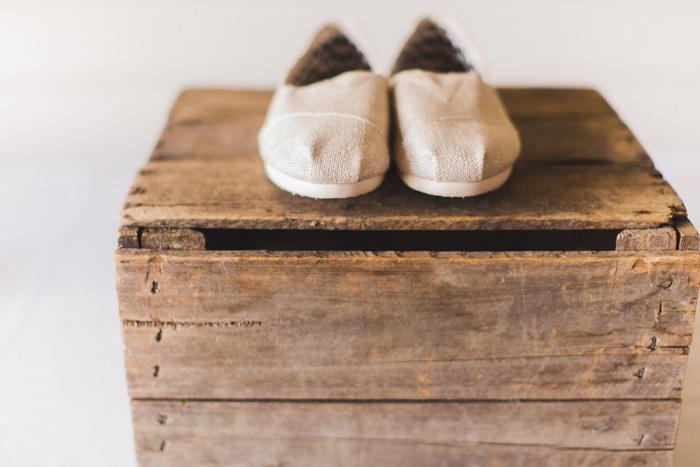bride's Tom Shoes