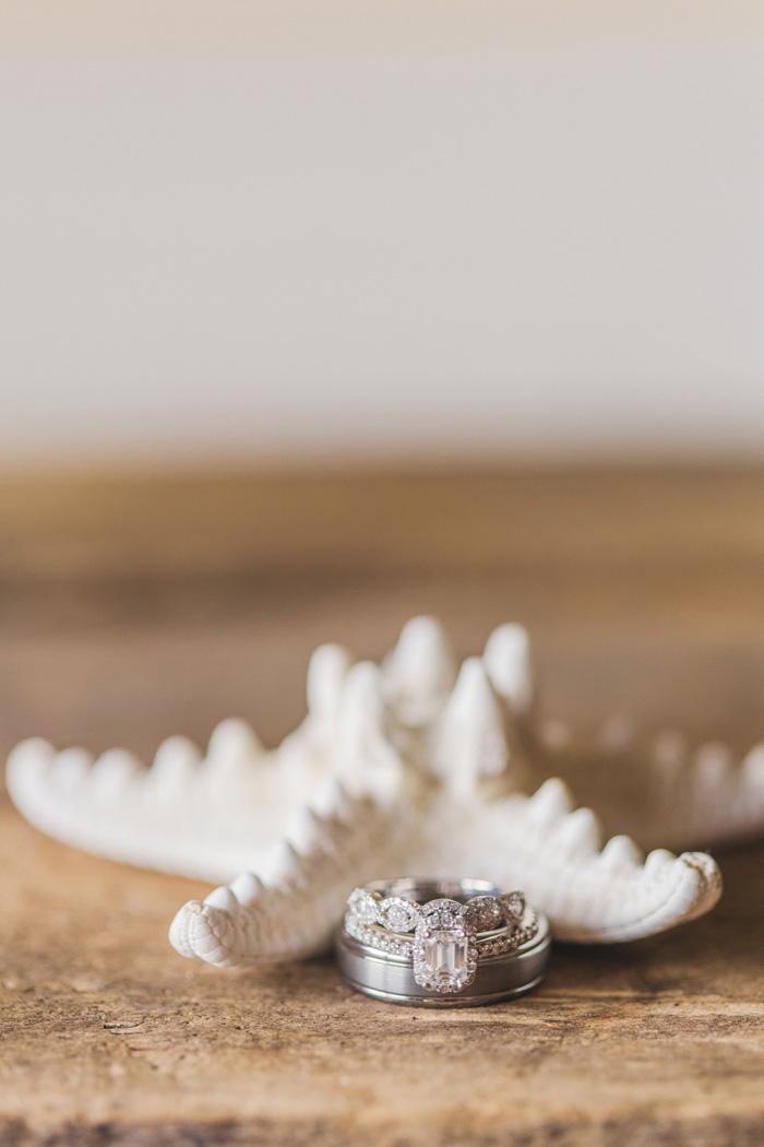 ring shot with starfish