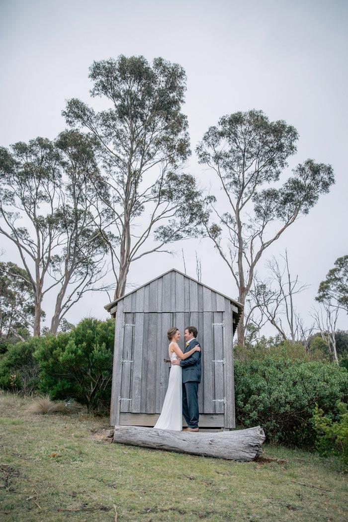 Intimate Tasmania Wedding
