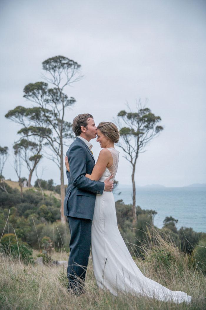 Tasmania wedding portrait