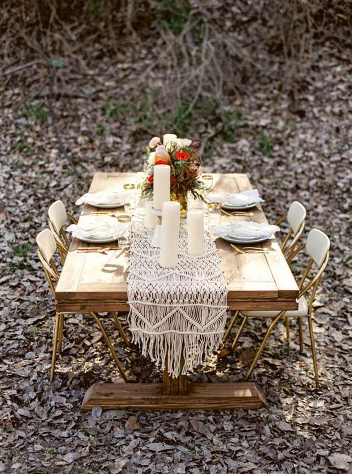 The Macrame Wedding: 10 Knotty Wedding Decor Ideas