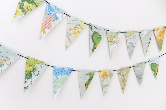 map-bunting