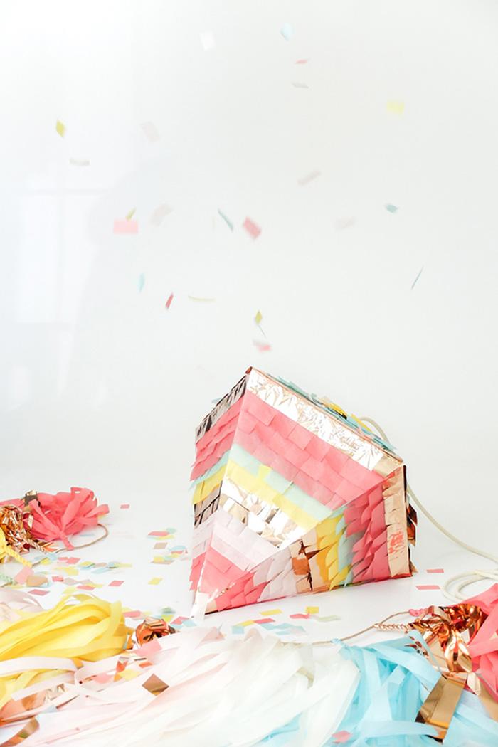 geometric piñata