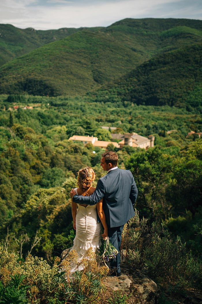 Rustic France wedding
