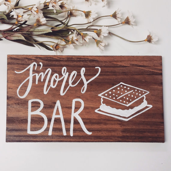 smores bar