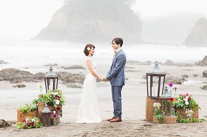 10 Drop Dead Gorgeous Beach Wedding Ideas