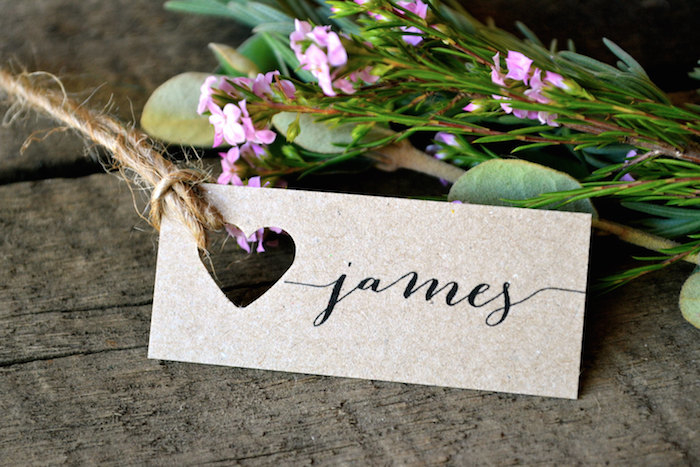 twine-placecards