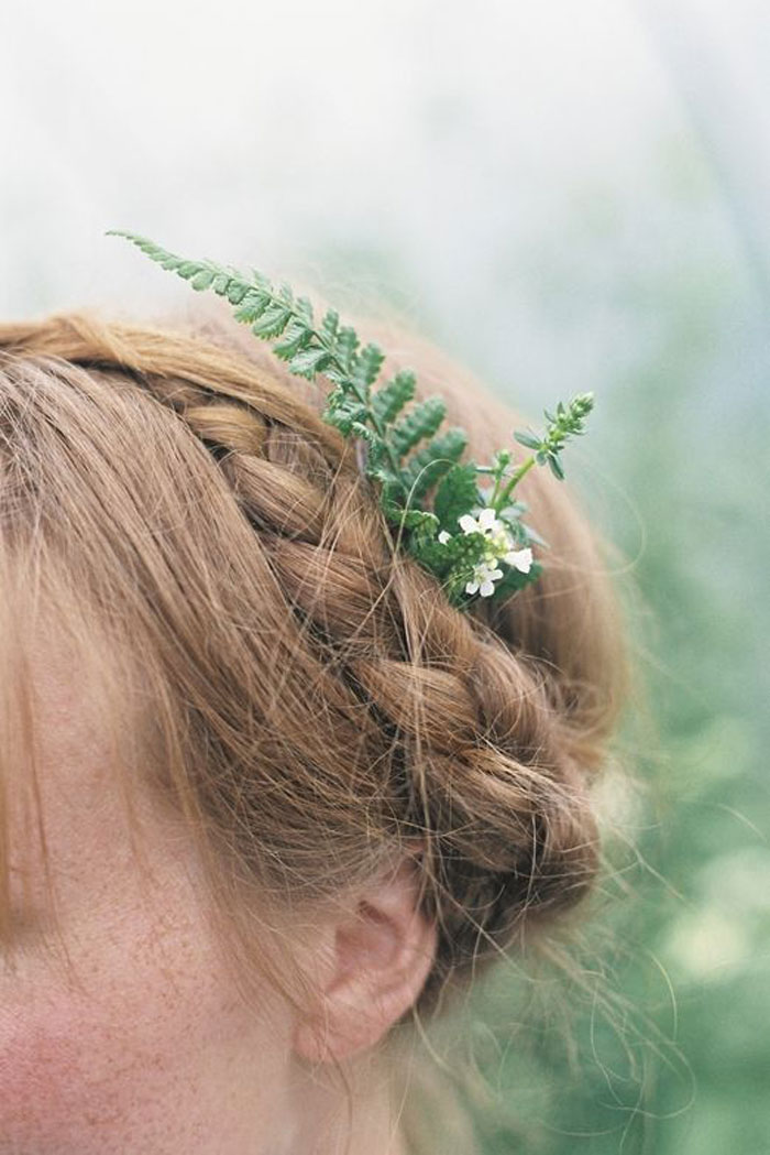 fern hairpiece