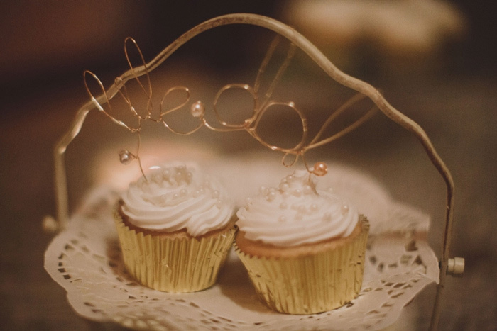 homemade wedding cupcakes