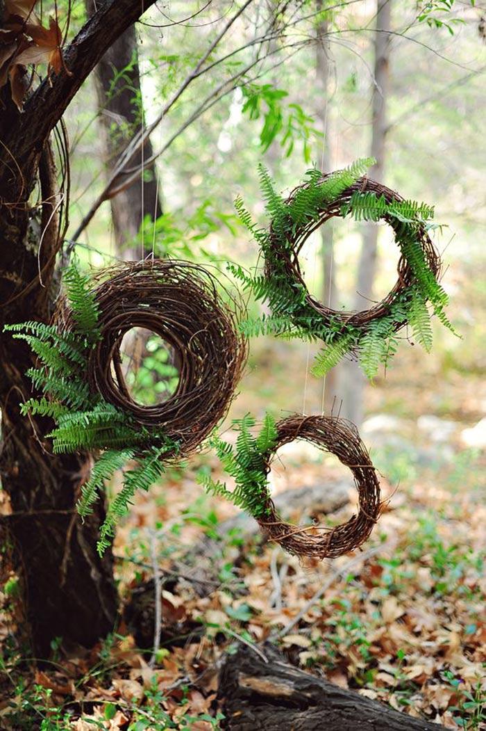 fern wreaths