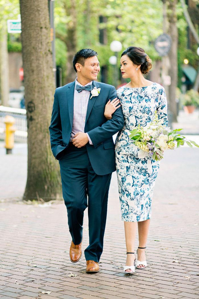 пара одетая на свадьбу фото услышала про
