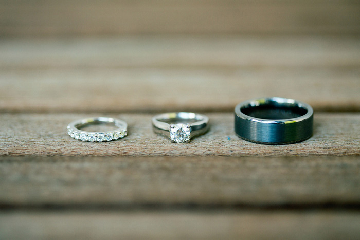 wedding ring shot