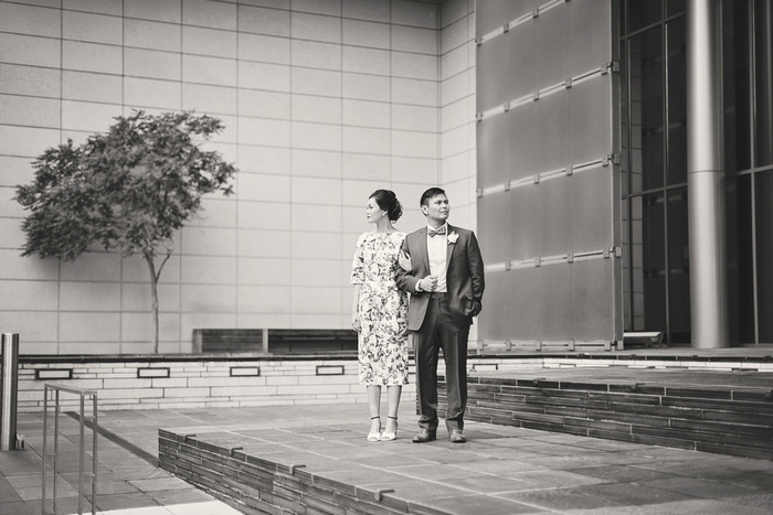Seattle wedding portrait