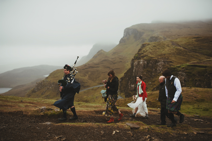 Chelsea And Gabriels Isle Of Skye Elopement