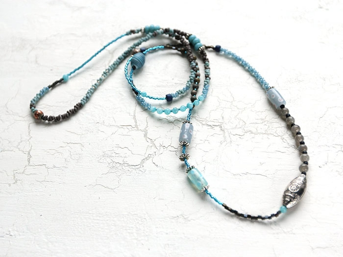 Blue-Beaded-Long-Necklace