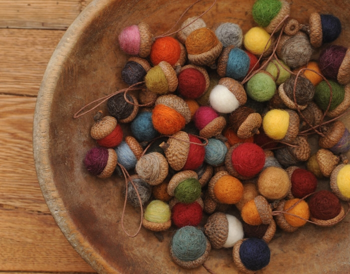 Colorful-Acorn-Ornaments
