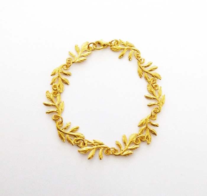 Grecian-Leaf-Bracelet