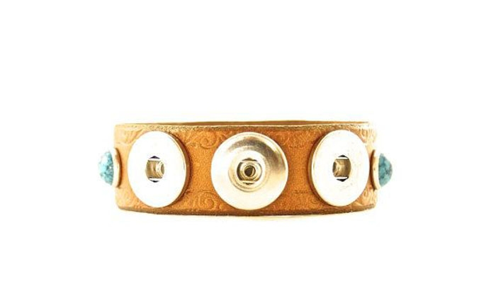 Leather-Turquoise-Bracelet