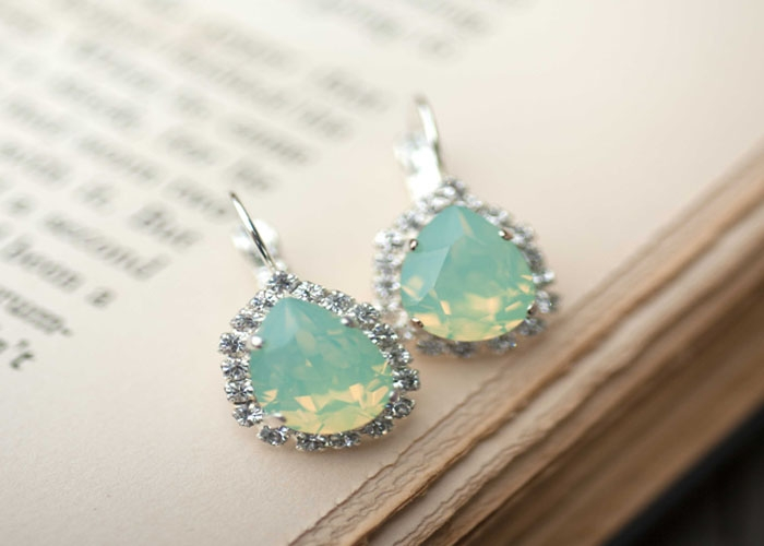 Seafoam-Swarovski-Earrings
