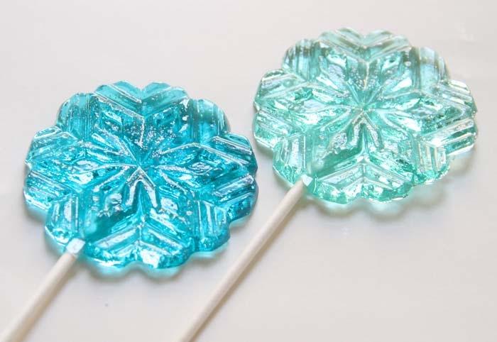 Snowflake-lollipop