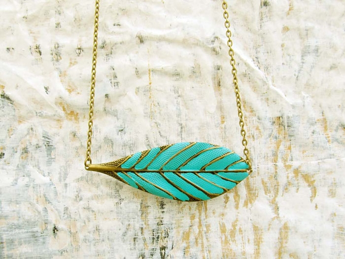 Vintage-Leaf-Necklace