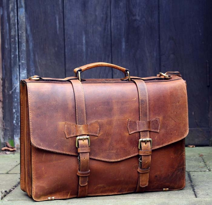 Christmas-Leather-Briefcase