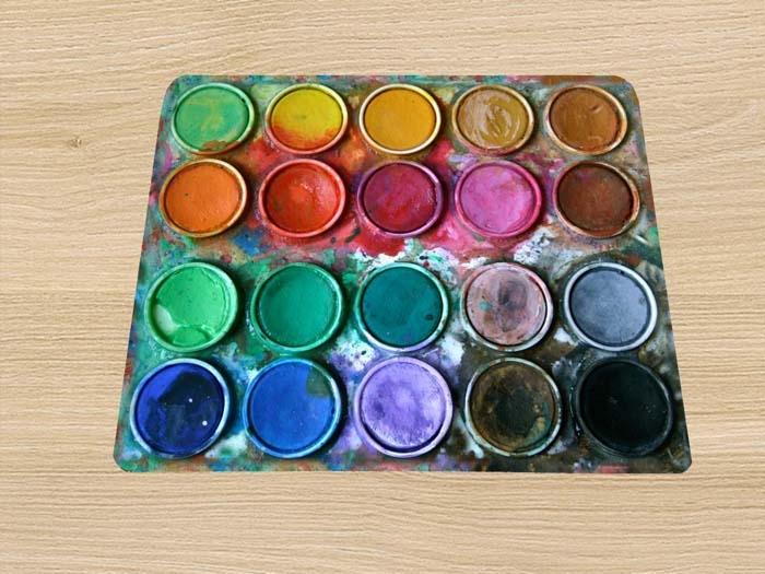 Bộ hộp nước màu