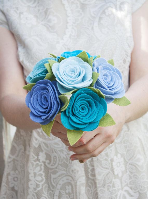 felt bouquet