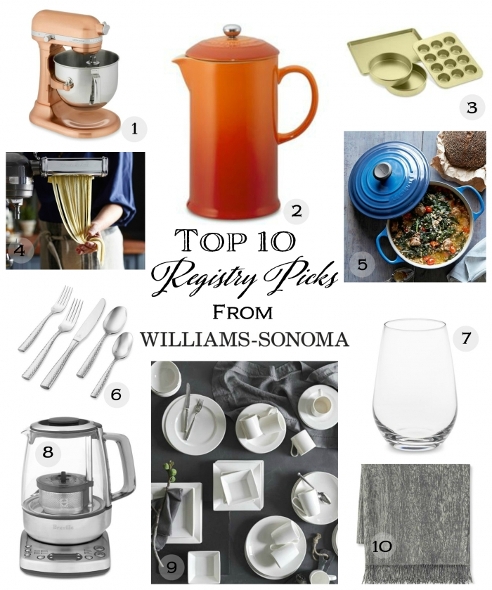 registry williams sonoma