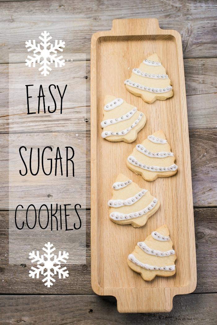 sugar cookies easy