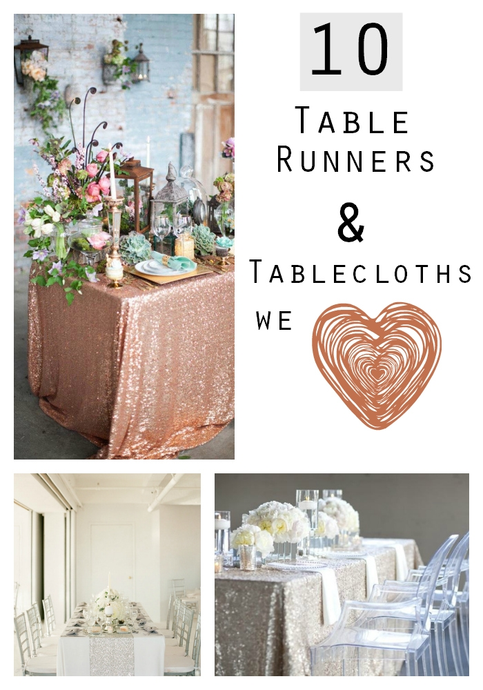tablecloth wedding