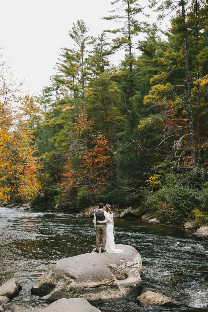 Dane And Danielle S Blue Ridge Georgia Wedding Intimate