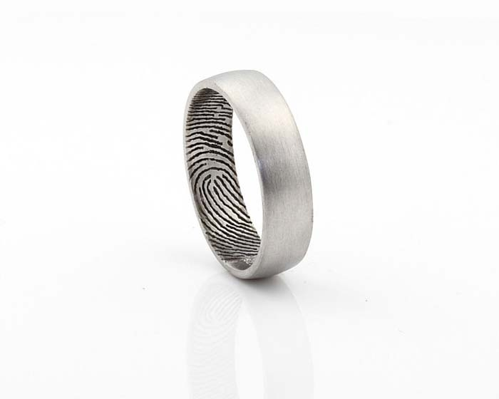 Mens Black Gold Wedding Bands