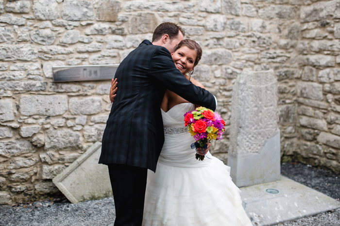 wedding ideas ireland kristy and ben s castle elopement intimate 27948