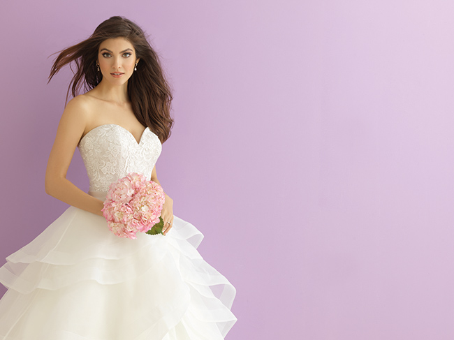 allure bridals gown