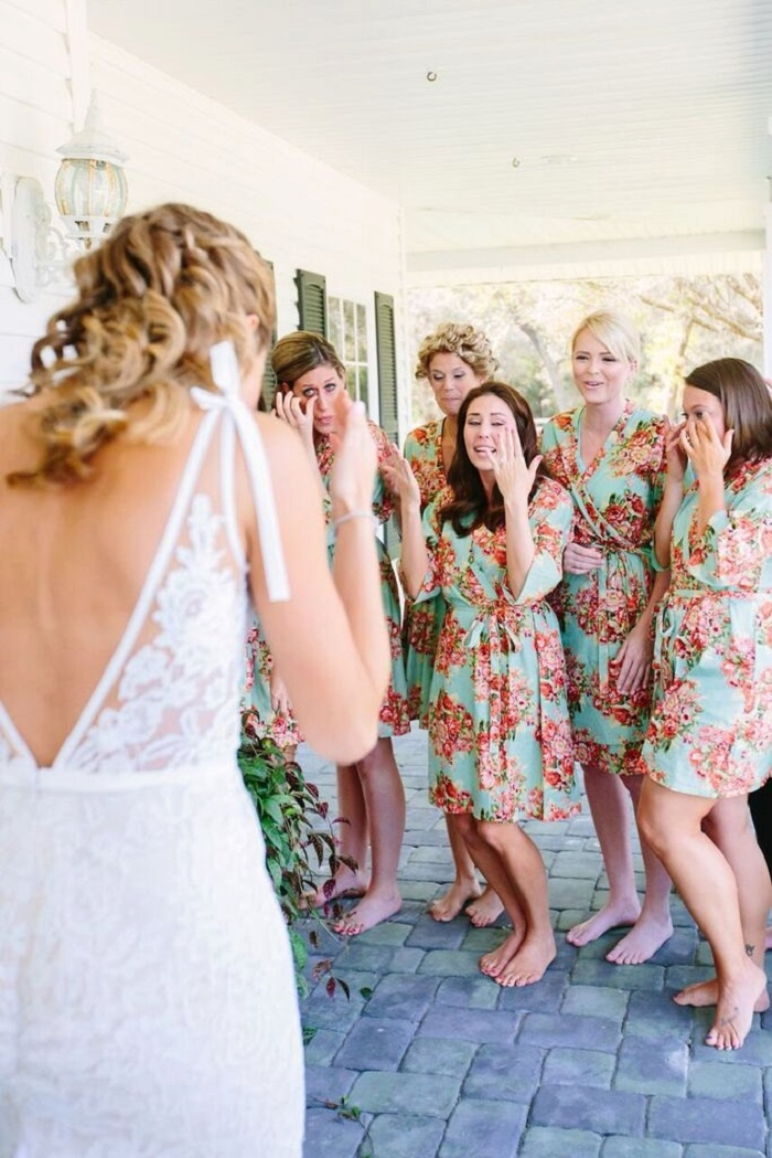 11 Gorgeous Bridesmaids Robes Intimate Weddings Small