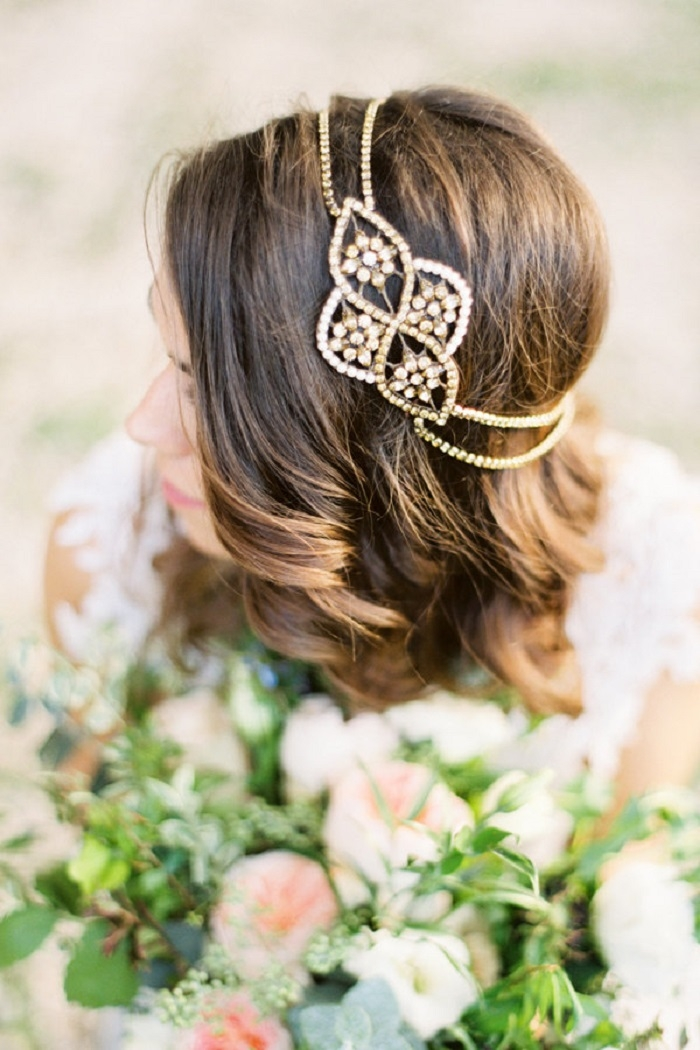 Bronze-Bridal-Headpiece