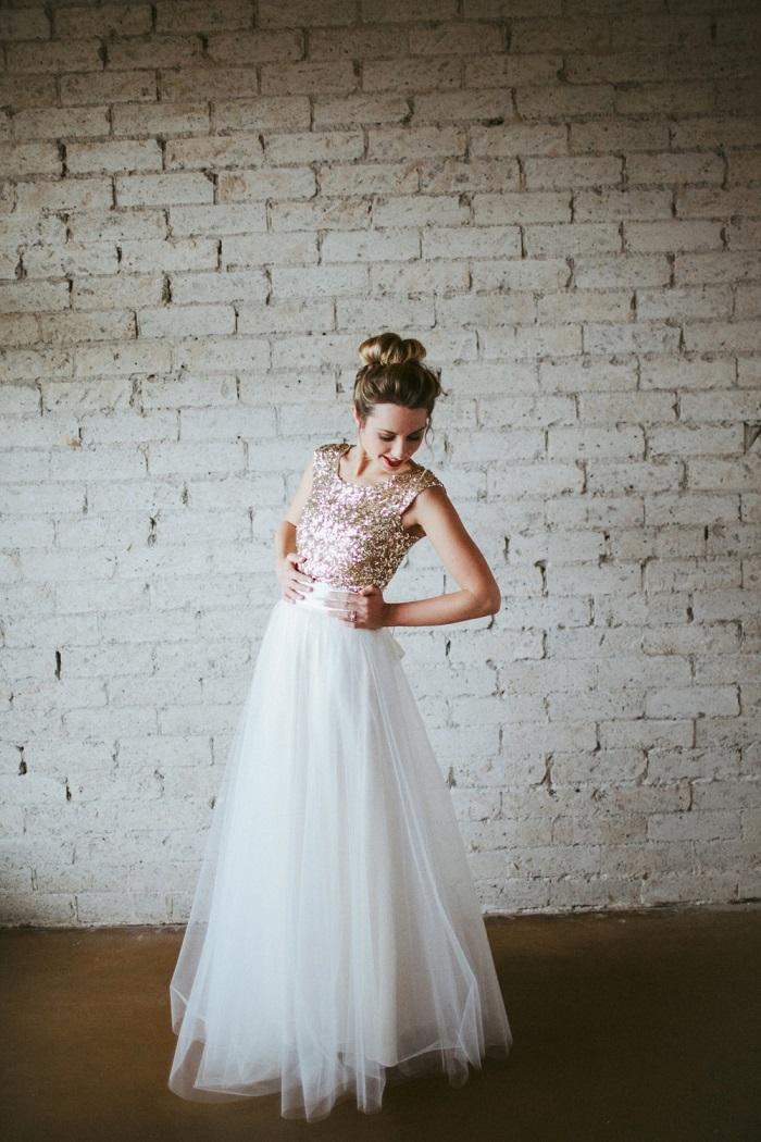 Cap-Sleeve-Sequin-Dress