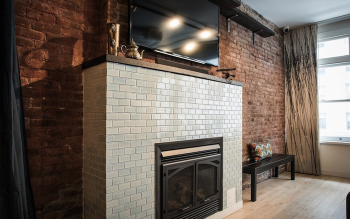 Flatiron-Penthouse-Fireplace-Living-Room